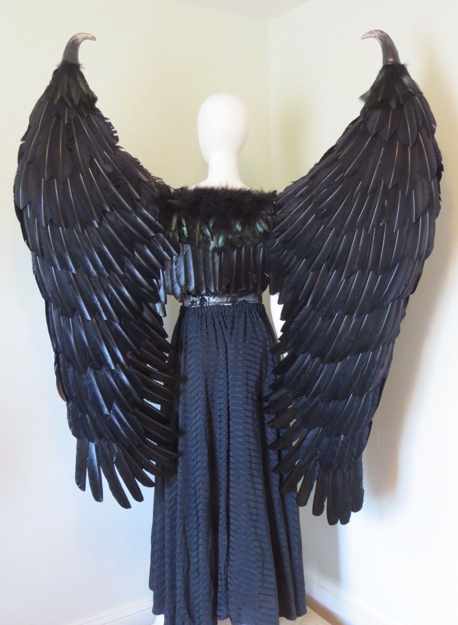 how to make angel wings at home