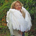 Wings that wrap around you like a hug.